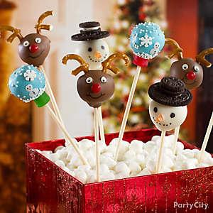 Reindeer Cake Pops How To