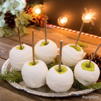 Christmas Candy Apple Idea