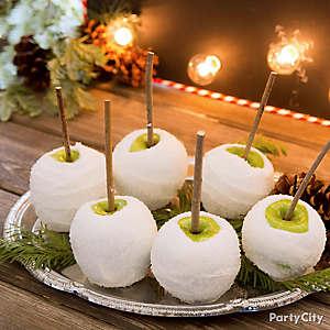 Christmas Candy Apple Idea