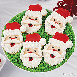 Santa Face Cookies How To