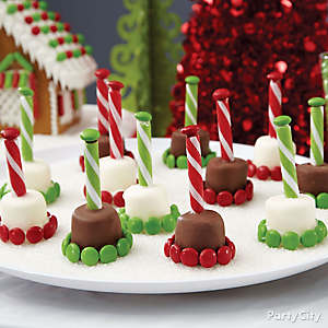 Marshmallow Candy Pops How To