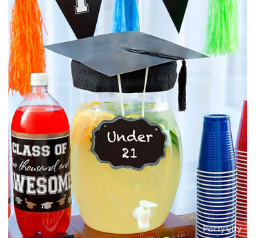 Graduation Under 21 Lemonade Idea