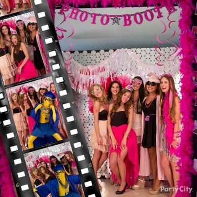 Pink & Zebra Grad Photo Bomb Idea
