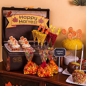 Kara's Party Ideas Fall Themed Pumpkin Boy Girl Harvest ...