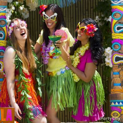 Luau Party Photos Idea