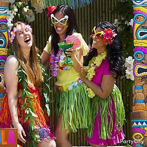 Luau Party Photos Idea