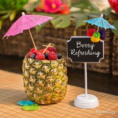 Berry Pineapple Bowl How To