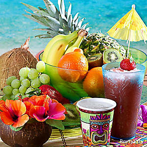 Tropical Fruit Display Idea