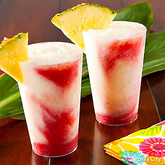 Tropical Lava Flow Cocktail Recipe