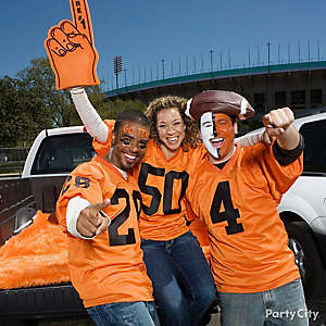 Football Tailgate Dress Up Ideas