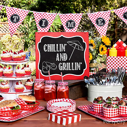 Gingham Picnic Food & Drink Ideas