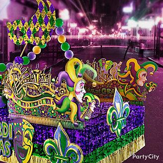 Mardi Gras Parade Float Ideas