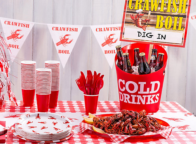 Cajun Crawfish Boil Ideas