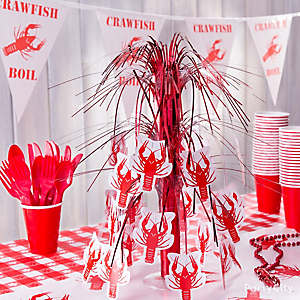 Crawfish Centerpiece Idea
