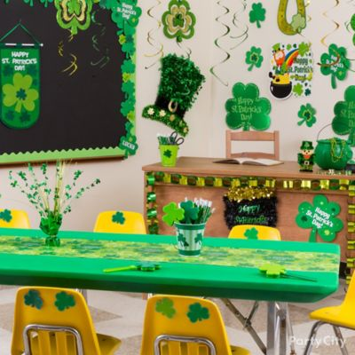 St. Patricks Day Leprechaun Hunt Idea