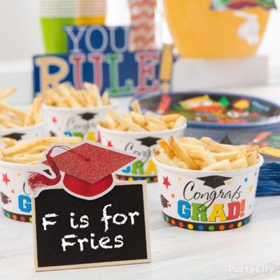 Kids Graduation Fries Idea