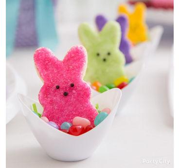 Peeps Bunny Cookie Nest Idea