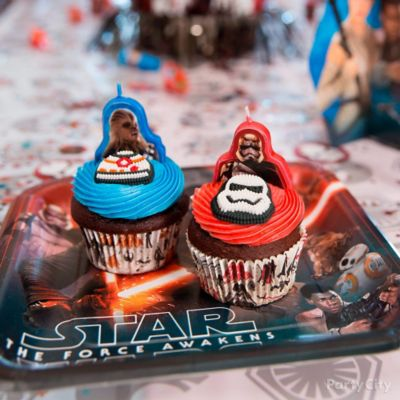 Star Wars Birthday Cupcake Idea