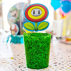 Super Mario DIY Centerpiece Idea