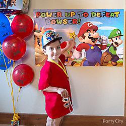 Super Mario Pin-It Game Idea