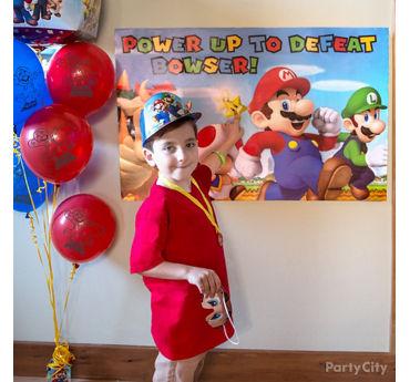 Super Mario Pin It Game Idea