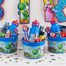 Super Mario Favor Bucket Idea