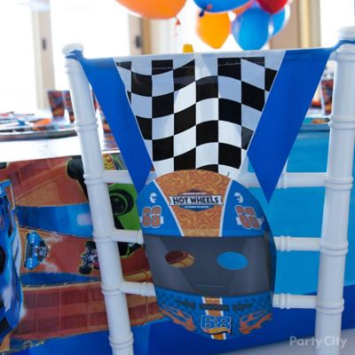 Hot Wheels Chair Decorating DIY