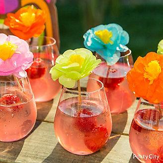 Guava Spritzer Drink Idea