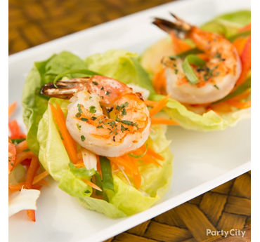 Shrimp Lettuce Cups Idea