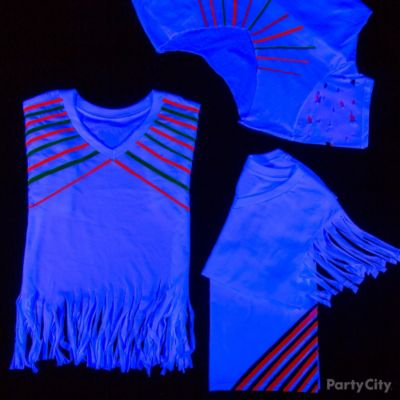 Black Light Party T-Shirts Idea
