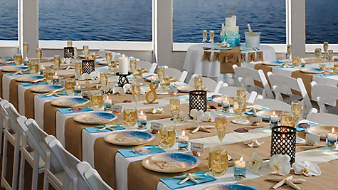 Beach Love Reception Ideas