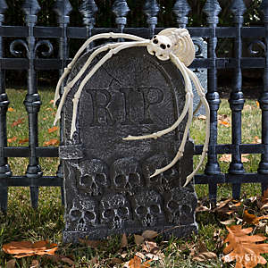 pet cemetery spider idea - Cemetery Halloween Decorations