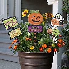 Flower Pot Signs Idea