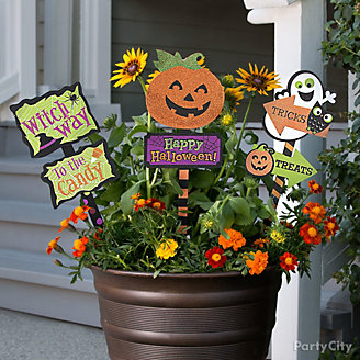 Flower Pot Signs Idea