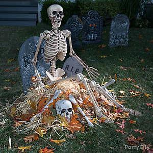 Pile of Bones Tombstone Idea