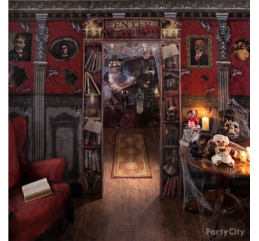 Secret Library Decorating Idea