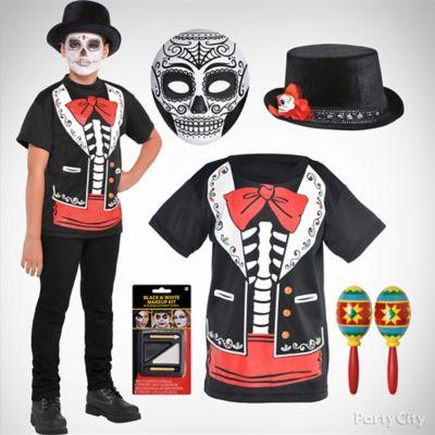 Boys Day of the Dead Costume Idea
