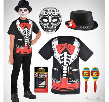 Boys Day of the Dead Costume Idea