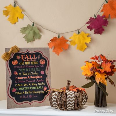 Fall Bucket List Idea