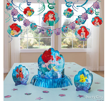 Little Mermaid Essential Decorations Idea