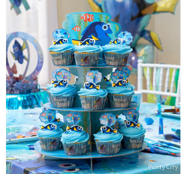 Dory Cupcake Tower Idea