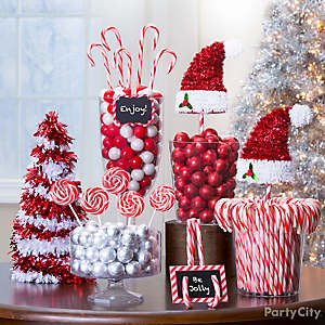 candy cane christmas decorations party city. Black Bedroom Furniture Sets. Home Design Ideas