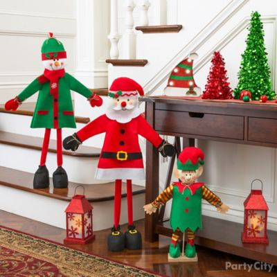 Santa Theme Christmas Party Ideas