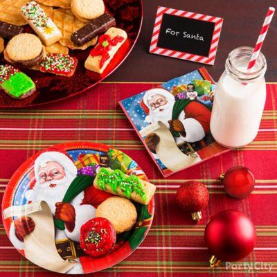 Scrumptious Santa Cookies