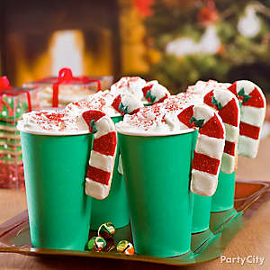 Holiday Cocoa with Cookie Hugger Idea