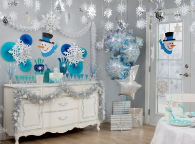 Snowflakes and Snowman Ideas
