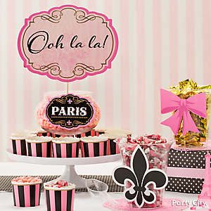 French Theme Candy Idea