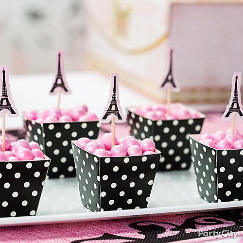 Eiffel Tower Favor Candy Idea