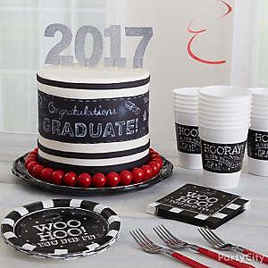 Chalkboard Graduation Cake Idea