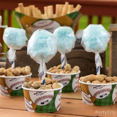 Cotton Candy and Peanuts Idea